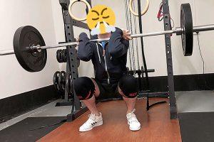 Squats knee sleeves