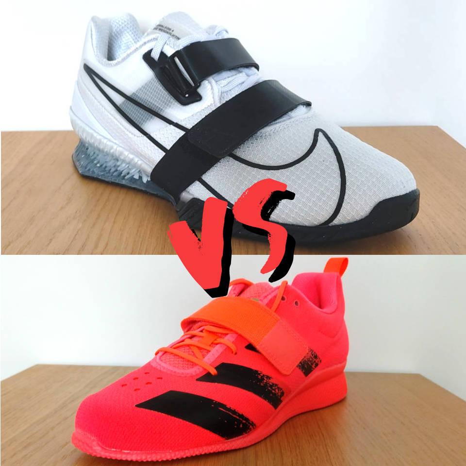Nike Romaleos 4 vs Adidas Adipower 2