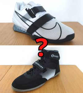 weightlifting shoes vs powerlifting shoes