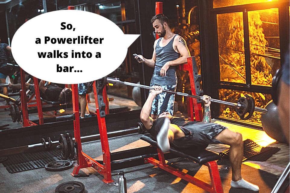 powerlifting jokes