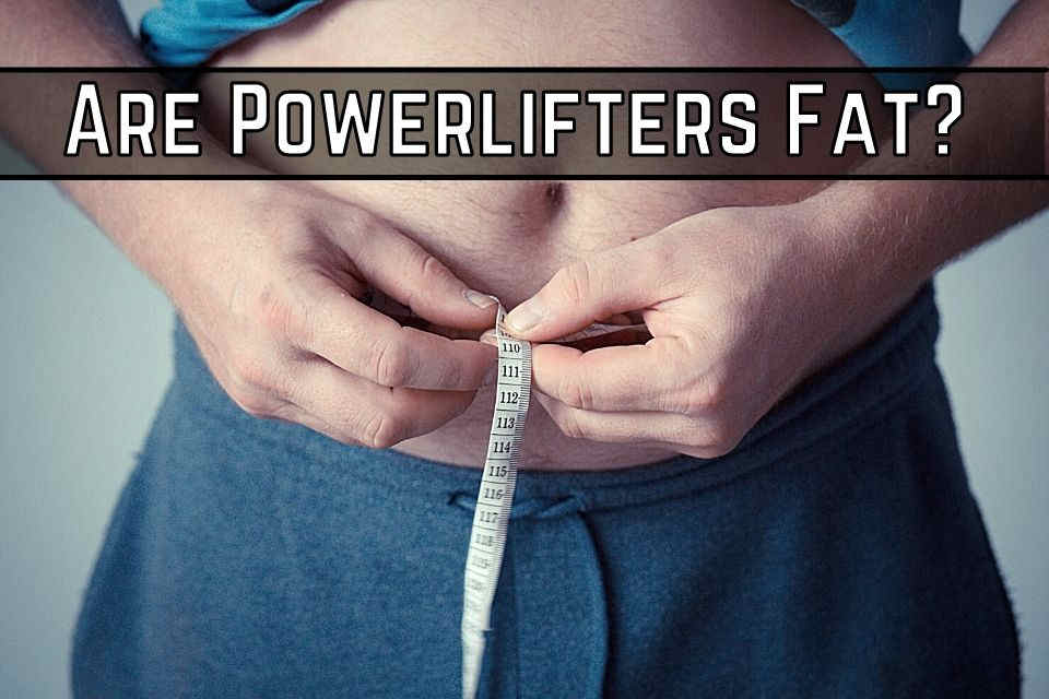 are powerlifters fat?