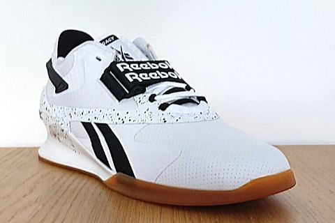 Reebok Legacy Lifter 2 weightlifting shoe close up